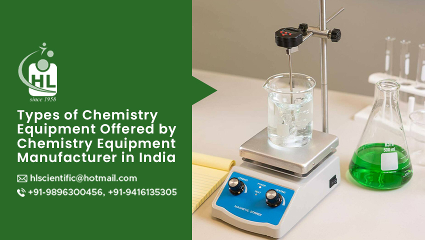 Chemistry Equipment Manufacture in India